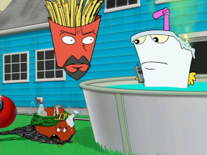 "Aqua Teen Hunger Force - ""Super Hero"""