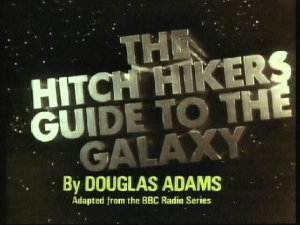 The Hitchhiker's Guide to the Galaxy: TV Series opening