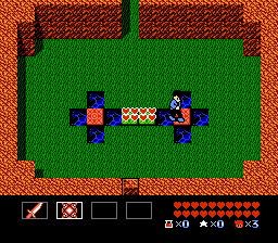 You didn't get double quad hearts in the first room in StarTropics, though.