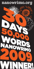 NaNoWriMo 2009 winner