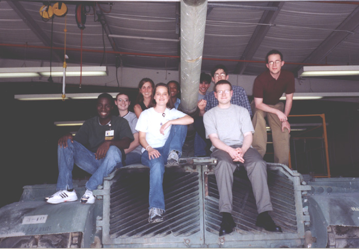Raytheon internship 2003